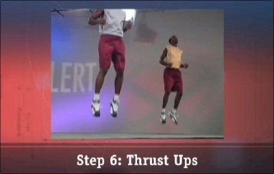 Step 6: Thrust Ups