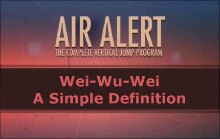 Wei-Wu-Wei: A Simple Definition